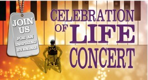 Join Us for an inspiring evening! Celebration of Life Concert