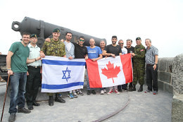 Image: Disabled Israeli veterans visit Montreal area