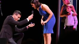 Shahaf Golan proposes to Mya Shmuel, an Israeli disabled veteran.