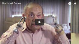 Israel Cohen, disabled Israeli veteran