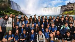 Kids of Courage visit Niagara Falls