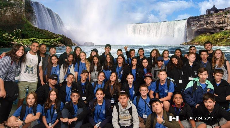 Kids of Courage visit Niagara Falls