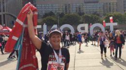 Toronto Sun columnist Sue-Ann Levy at the Toronto run